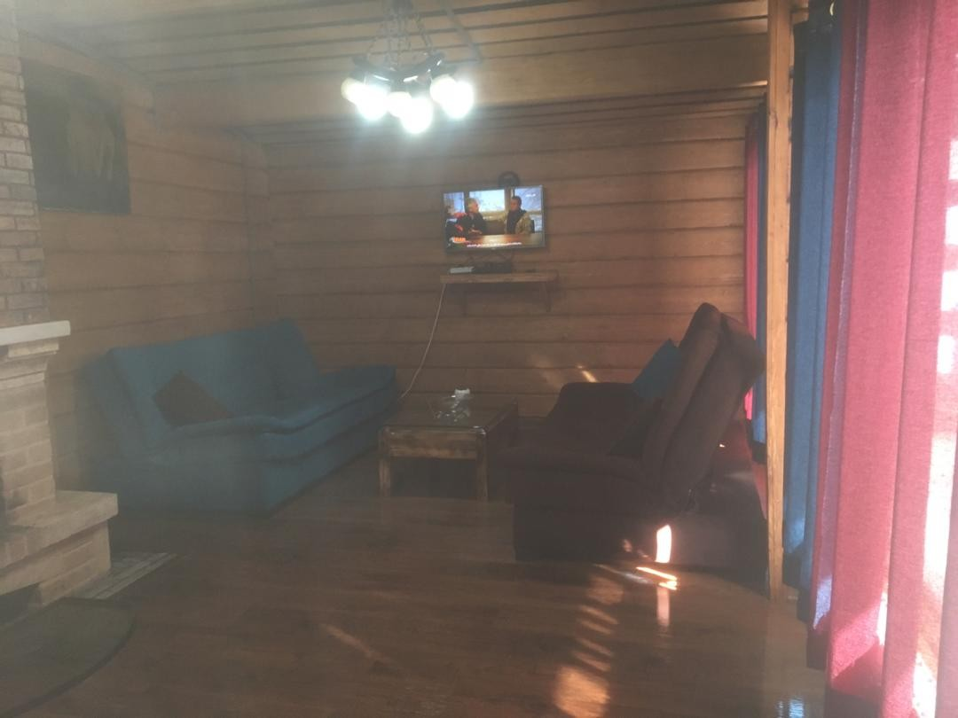 کوهستانی کلبه چوبی در دل جنگل دوخوابه در دیزین-واحد13