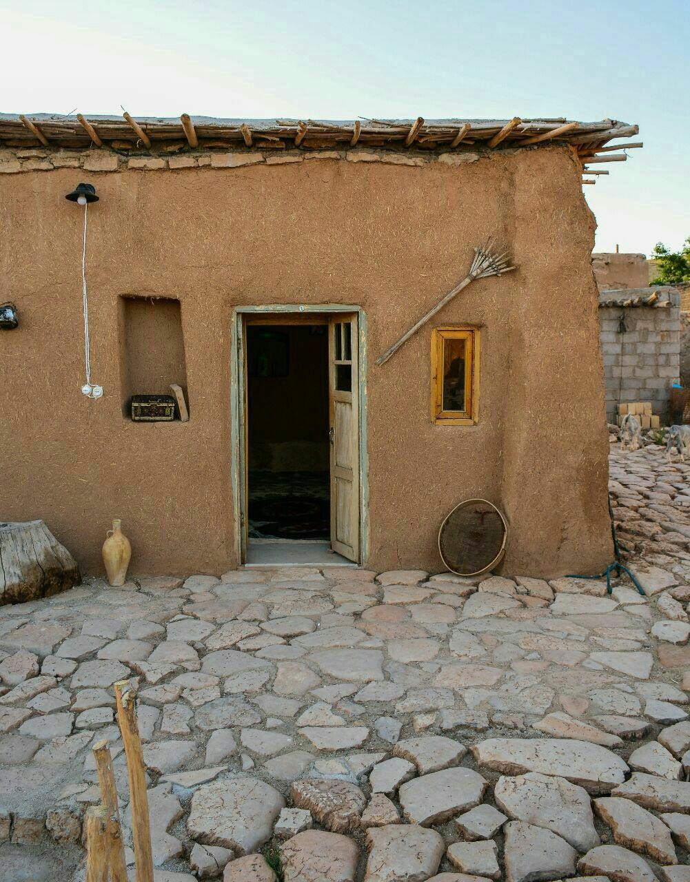 Eco-tourism اتاق سنتی در قصر یعقوب خرم بید - اتاق 1