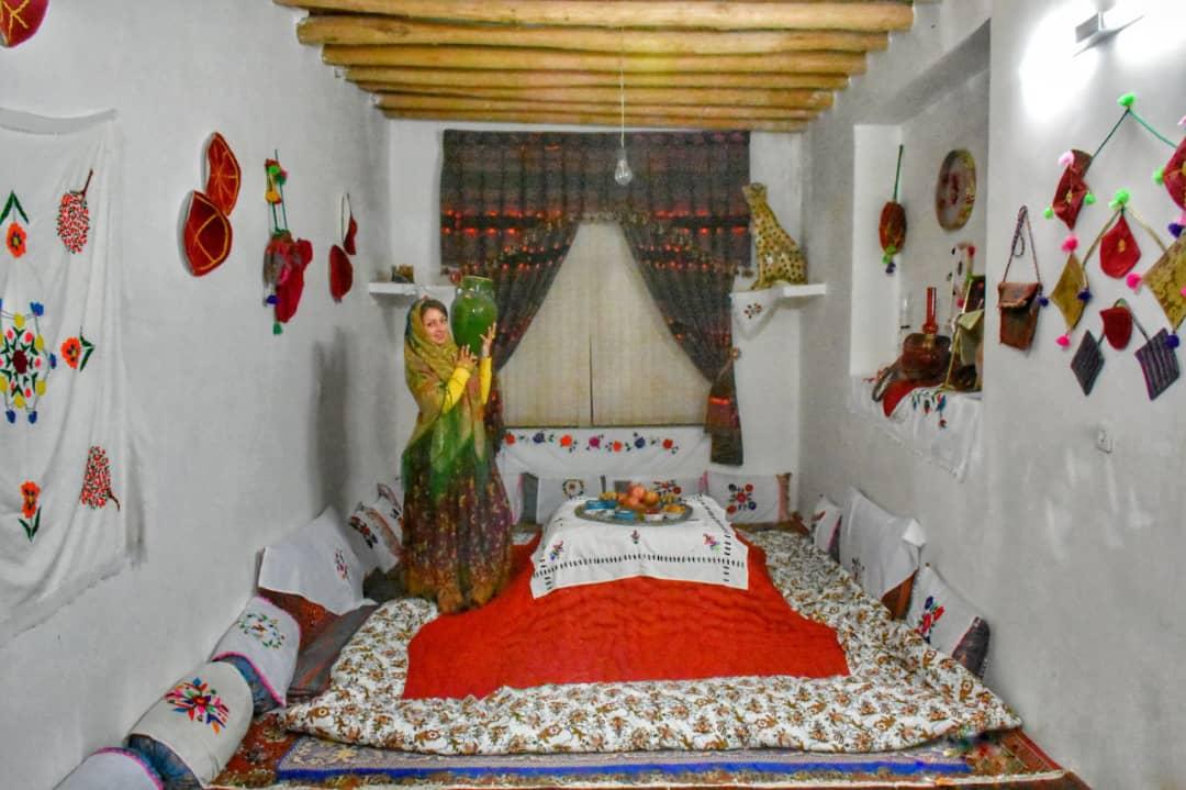 بوم گردی اتاق  سنتی در سمنان-اتاق یکم
