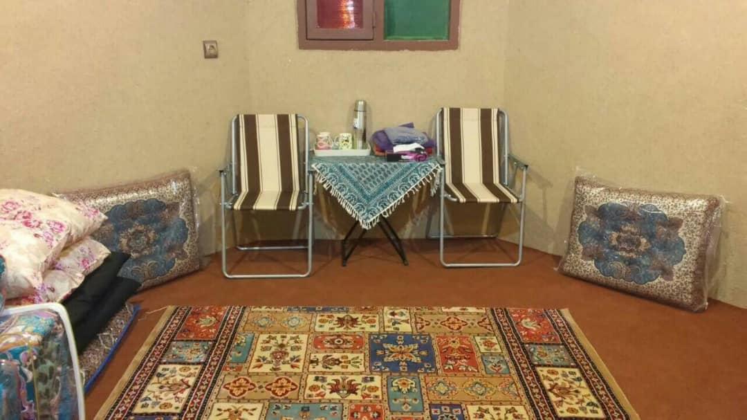 کویری  خانه ی بومگردی در کویر یزد - اتاق 4