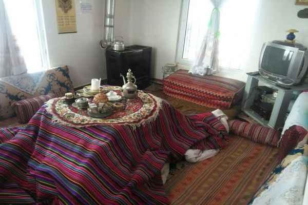 بوم گردی اقامتگاه بومگردی تمیز در طالقان کرج - اتاق1