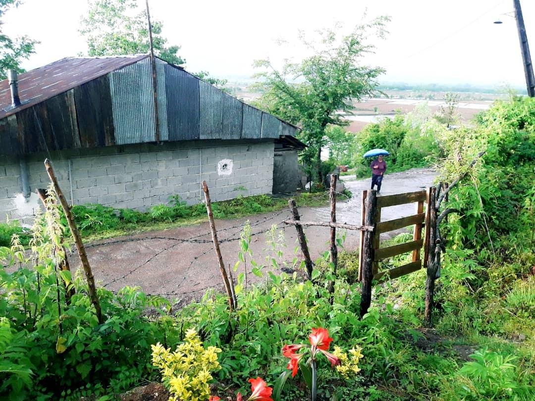بوم گردی خانه سنتی دررودبار