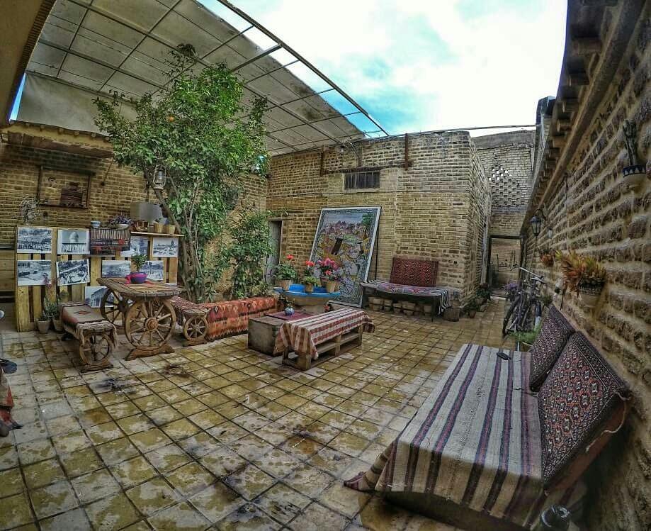 بوم گردی اقامتگاه بوم گردی سنتی در شیراز