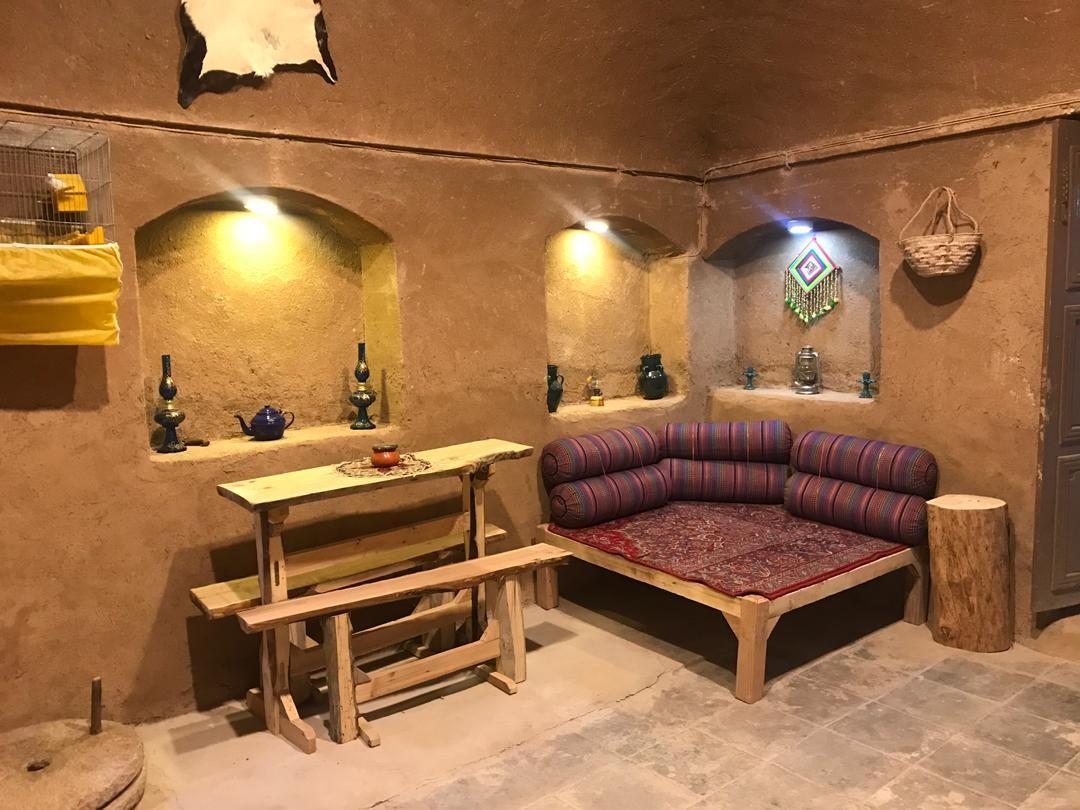 بوم گردی هتل سنتی در تودشک اصفهان