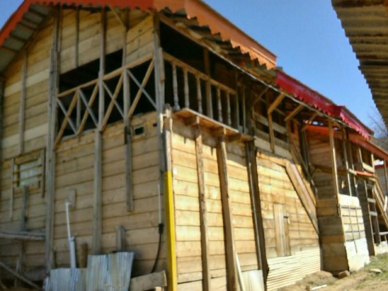 Mountainous کلبه چوبی در ییلاق ماسال