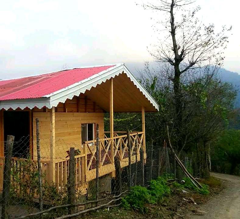 Forest کلبه چوبی جنگلی در خروم ماسال