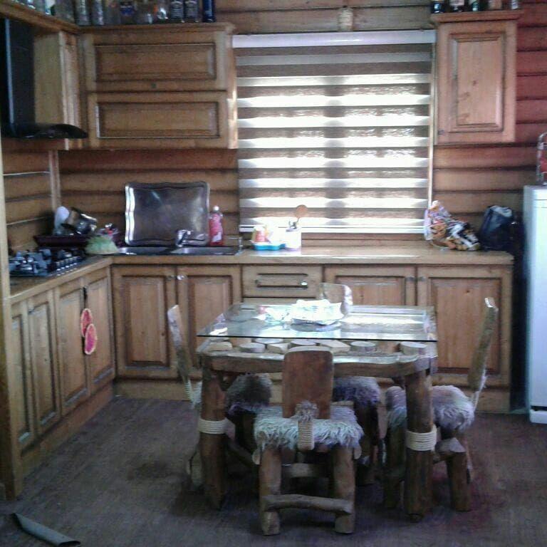 ویلا کلبه چوبی استخردار
