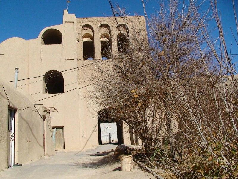 بومگردی قلعه تیزوک اتاق 16