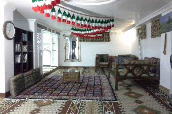 اقامتگاه چشمه مروارید واحد همکف