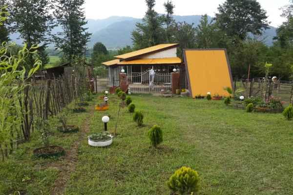 اقامتگاه ویلا جنگلی بکر با آلاچیق و جنگل اختصاصی